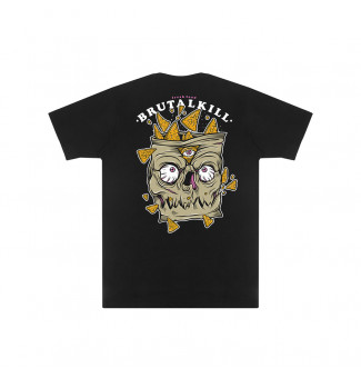 CAMISETA BIG BRUTAL KILL FREAK FOOD 2-KILL NACHOS (PRETO)