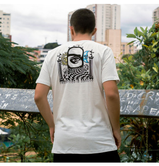 CAMISETA RVCA PERCEPTION (OFF WHITE)