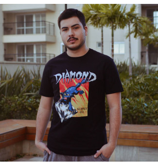 CAMISETA DIAMOND GREED TEE (PRETO)