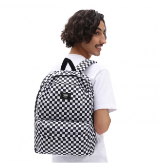 MOCHILA VANS OLD SKOOL III CHECKERBOARD (BLACK/WHITE)
