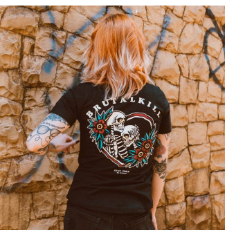 CAMISETA FEM BRUTAL KILL TOGETHER (PRETO)