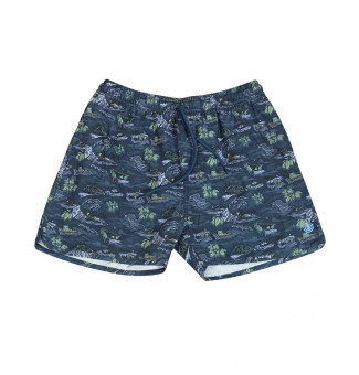 Shorts Element Boardshort River Rats Estampado