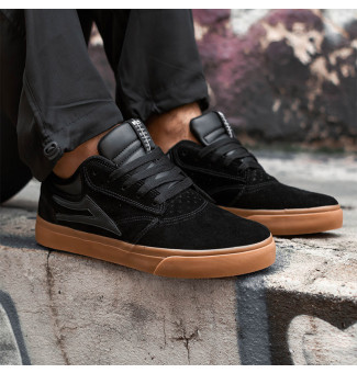 TÊNIS LAKAI GRIFFIN SD 1902 (BLACK/GUM)