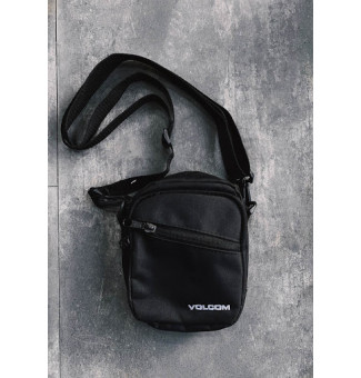 MINI BAG VOLCOM CORPORATE (PRETO)
