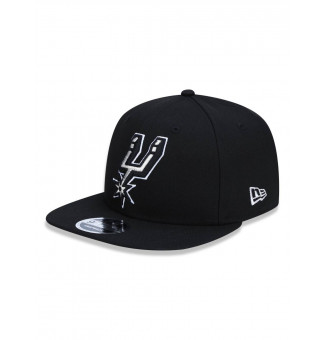 SNAPBACK NEW ERA 9FIFTY SAN ANTONIO SPURS NBA (PRETO)