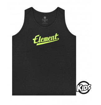 Regata Infantil Element Script BK Preto