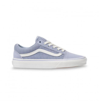 Tênis Vans Old Skool Multi Woven WN3 (Zen Blue)