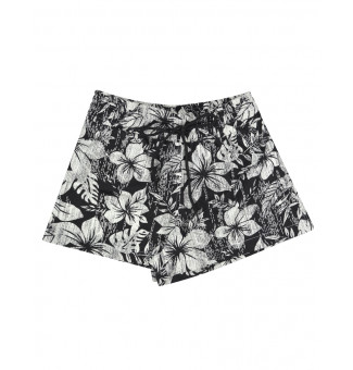 Short Riot Beach Hawaiian Dreams (Preto)