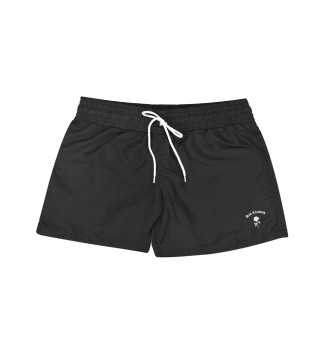 Shorts Riot Beach (Preto/Branco)