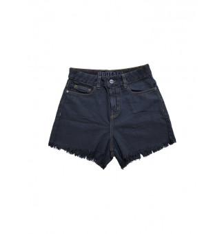 Shorts Brutal Kill Jeans Black (Preto)