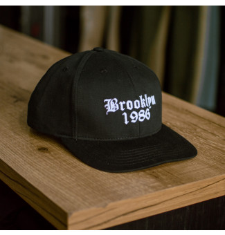 SNAPBACK BROOKLYN 1986 OTHER CULTURE (PRETO)