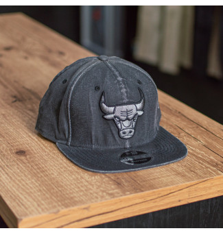 SNAPBACK NEW ERA 9FIFTY ORIGINAL FIT CHICAGO BULLS NBA (PRETO)