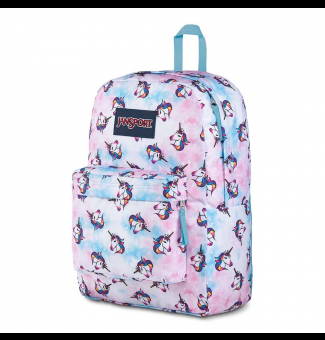 MOCHILA JANSPORT SUPERBREAK UNICORN CLOUDS
