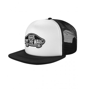Boné Trucker Vans Classic Patch White/Black