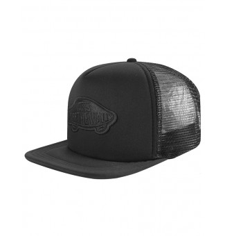 Boné Trucker Vans Classic Patch Full Black