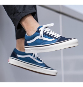 Tênis Vans Old Skool Pro 0NS (Navy/White)