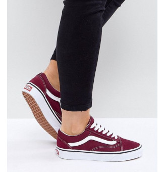 TÊNIS VANS OLD SKOOL 5U7 (PORT/ROYALE)