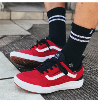 Tênis Vans Ultrarange 3D 458 (Black/Red)