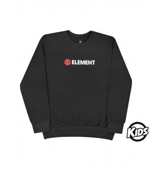 Moletom Careca Infantil Element Essencial (Preto)