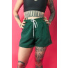 Shorts Riot Beach (Verde/Branco)