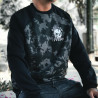 Moletom Raglan Ska Broken Dreams Estonado/Preto