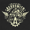 Camiseta Aerosmith Boston Preto