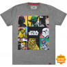 Camiseta Chemical BIG All Star Wars Cinza