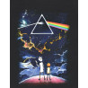 Camiseta Chemical BIG Ricky And Morty Prism Preto