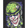 Camiseta Vomit3d Joker Mad Soldier Preto