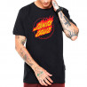 CAMISETA SANTA CRUZ FLAMING DOT FRONT (PRETO)