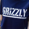 CROPPED GRIZZLY STAMP TEE (ROXO)