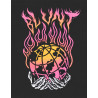 Camiseta Blunt Earth On Fire (Preto)