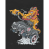 Camiseta Independent T-Shirt Cab Dragster (Preto)