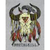 Camiseta Brutal Kill Arizona (Mescla)