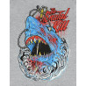 Camiseta Brutal Kill Shark (Mescla)