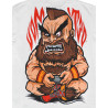 Camiseta Vomit3d Zangief Red Cyclone Branco